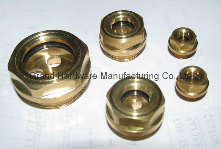 英制管螺纹1英寸油镜视镜油位镜 4