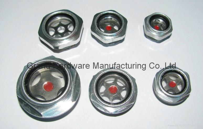 英制管螺纹1英寸油镜视镜油位镜 5