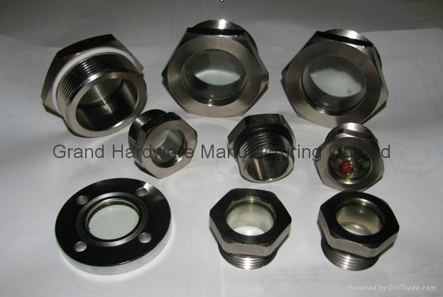 G1/2 英吋空壓機鋁油鏡 5