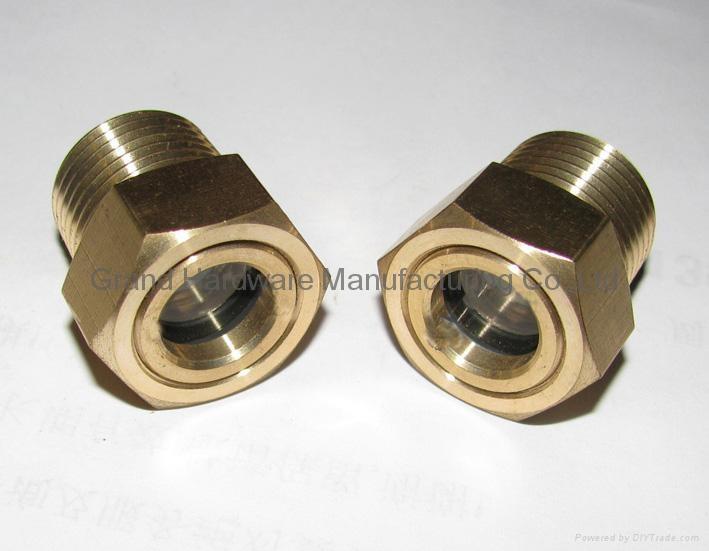 NPT Brass Oil level sight glass