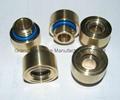 M16x1.5铜油镜铜油标铜液