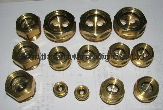 Brass Oil Sight Glass