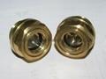 定制G3/4寸黄铜油位器液位器