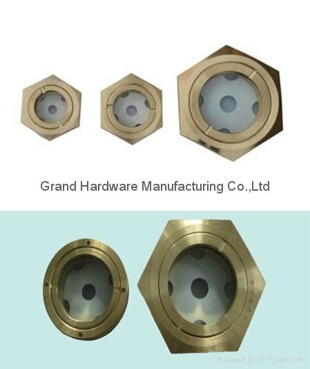 定制G3/4寸黄铜油位器液位器油位观察镜油窗GM-BG34 2