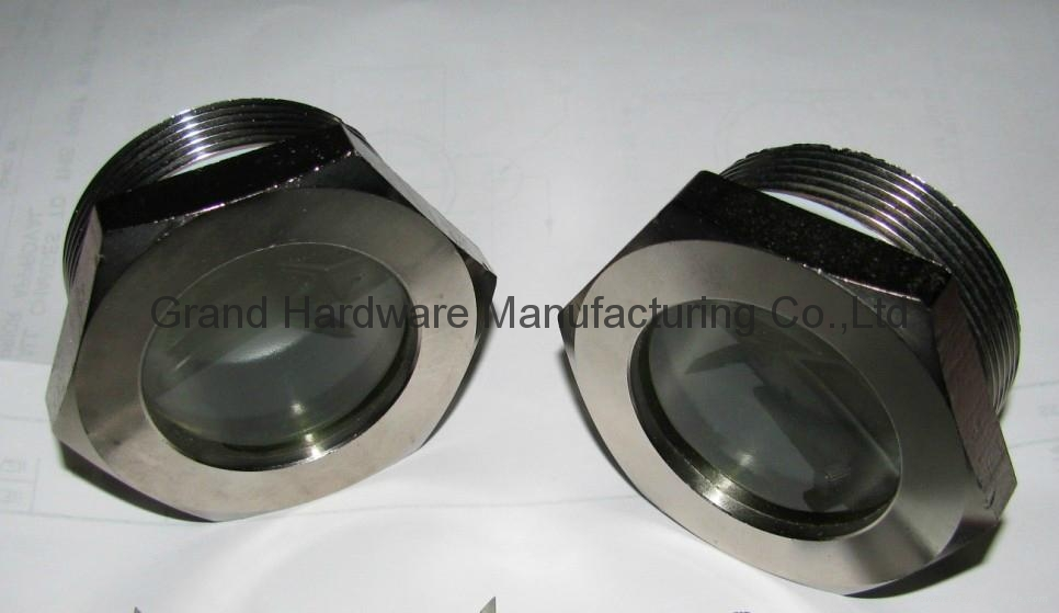 304 stainless steel fused sight glasses