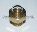 dome head liquid sight glass