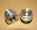 """BSP 1/2"""" Brass Oil Sight Gauge"""
