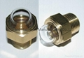 "3/4"" NPT domed shaped oil level sights"