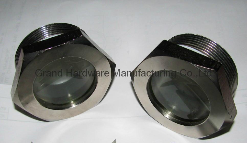 G thread fused oil sight glass windows 2 inch