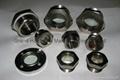 steel fused oil level peep sights
