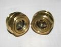 bull eye oil sight windows BSP 3/4 inch