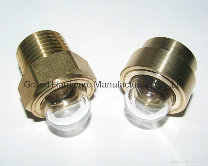 Domed Sight plug