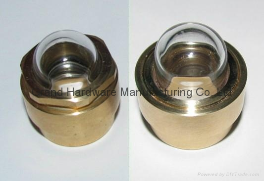 Domed Shaped oil sight window