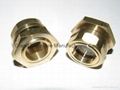 Brass Sight Windows  UNF 3/4