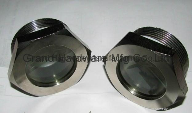 Threaded oil sight glass any size grand china