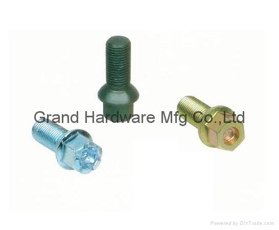 Automotive wheel bolts 3
