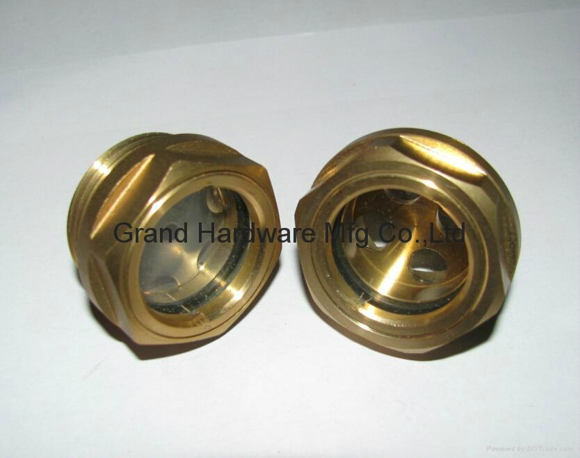 Circular window oil sight glass china manufacturer