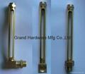 brass oil level indicator
