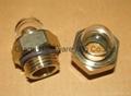 NPT 1/2 Domed shape Brass oil sight glass GM-HDN12 5