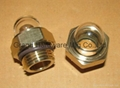 NPT 1/2 Domed shape Brass oil sight glass