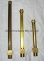 straight brass oil level sight gauges