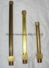 公制螺纹直管铜管油标