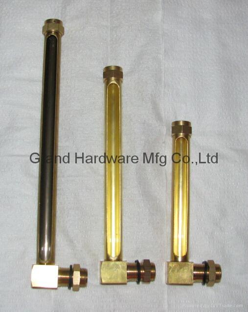 L形狀銅管油標油位器 14
