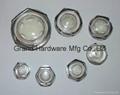 Circular Plastic Oil Sight Glass(Metric Thread)