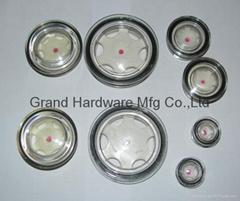 圆形塑料油镜压缩机减速机油镜液位观察镜