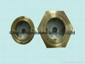 BSP one inch brass oil level Sight Glass for power station