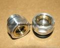 BSP/NPT螺紋1寸黃銅油鏡油窗視窗觀察鏡油位器 11