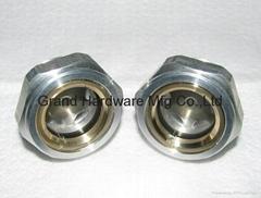 羅茨真空泵鋁油液位視鏡G1-1/4英吋