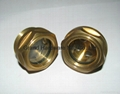 Domed oil level gauge sight glass Bubble sight plugs