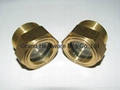 BSP 2 inch Brass Circular Oil level sight glass