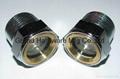 NPT 1 Steel sight glass Zinc plated