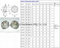Metric and BSP Thread plastic oil sight plugs