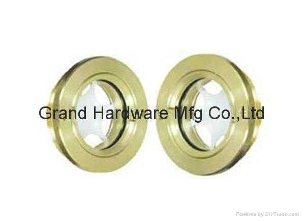 "G2"" Circular Brass oil sight glass for screw compressor"