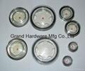 Circular Plastic Oil Sight Glass(