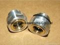 BSP 1 Inch oil level sight glass plugs indicator for screw air comressor 7