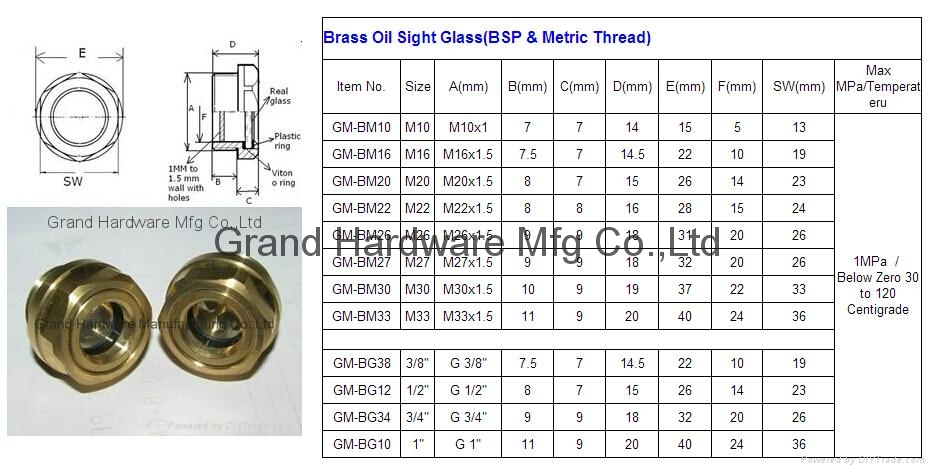 oil level sight glass 2