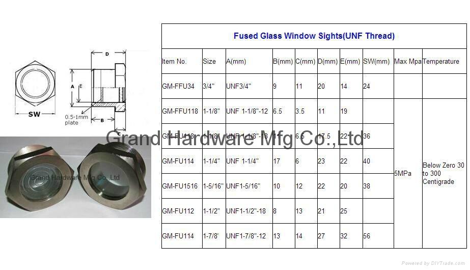 Fused Metal sight windows 15