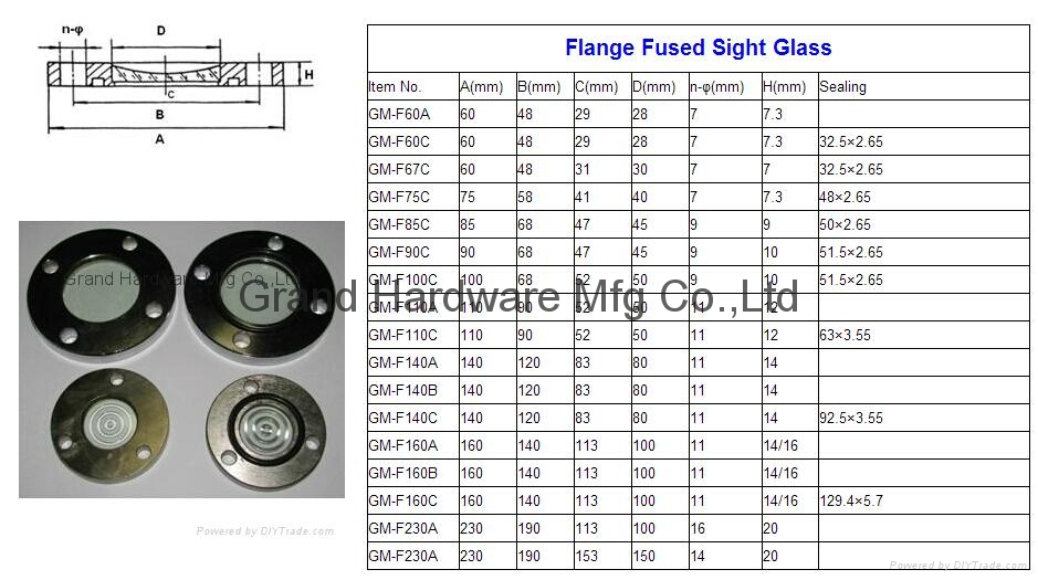 Fused Metal sight windows 20