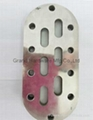 Plank Oil sight glass nickel plated