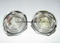 BSP 1 Inch oil level sight glass plugs indicator for screw air comressor 16