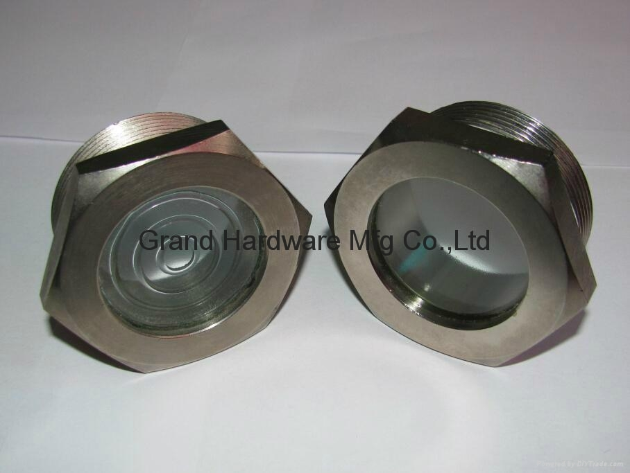 BSP 1 Inch oil level sight glass plugs indicator for screw air comressor 20
