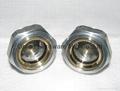 Roots Vaccum pump Hexagon Aluminum Oil Sight Glass G1-1/4 inch 2