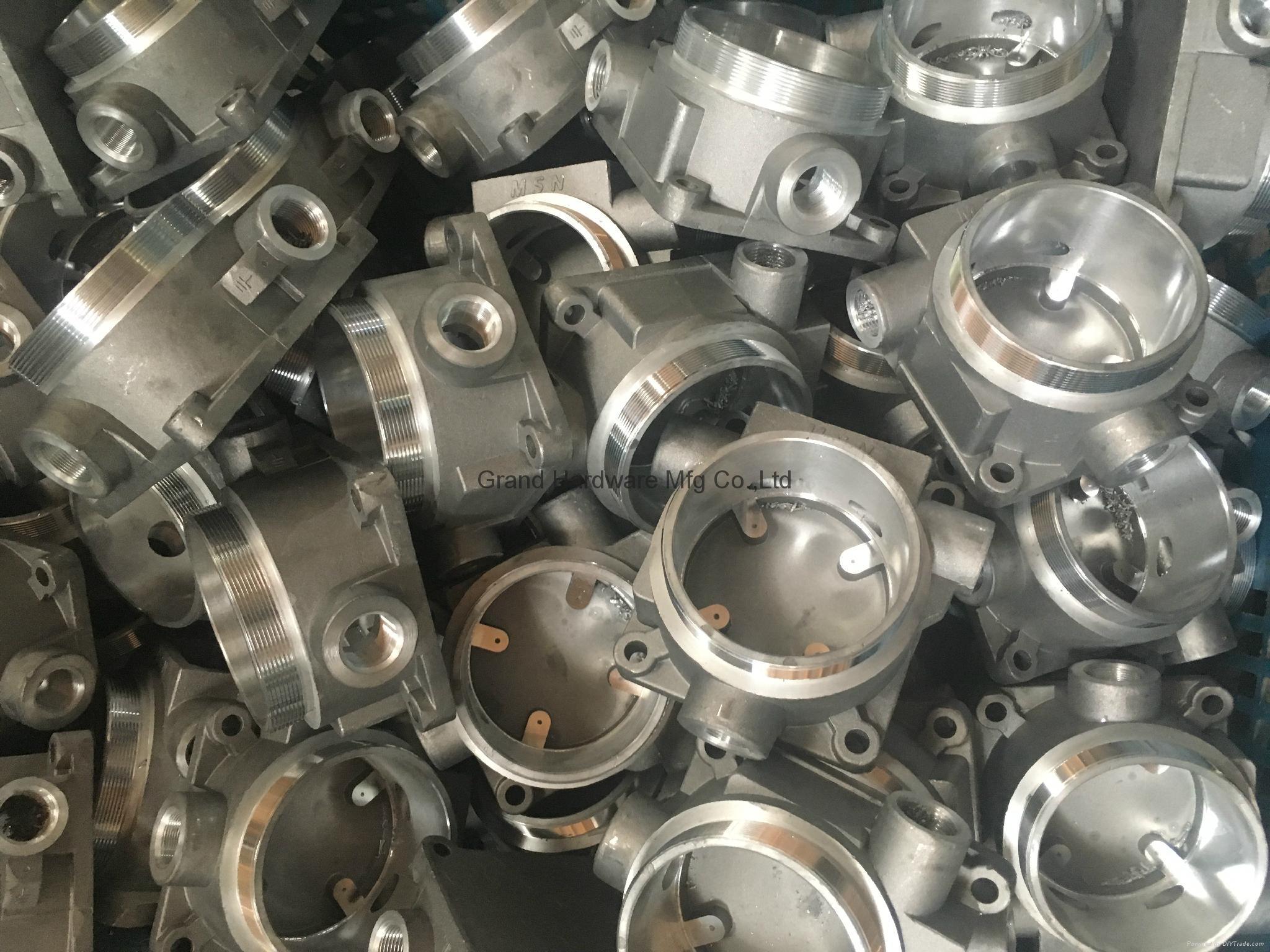 Aluminum casting body