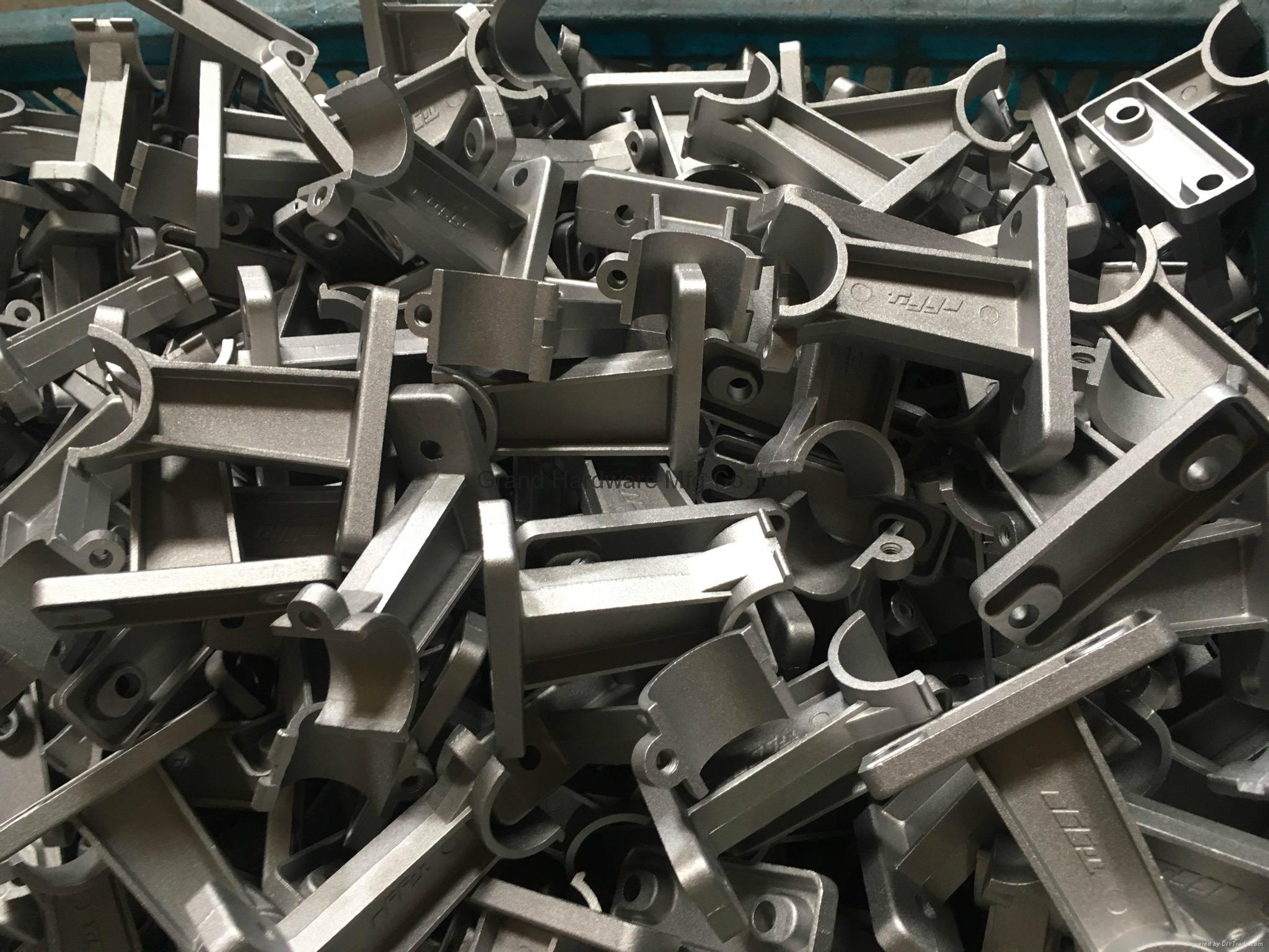 Aluminum die casting pipe rack