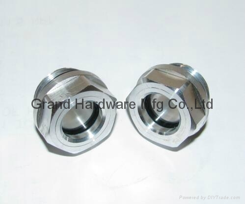 "G1/2"" 铝油镜铝视镜铝油标 1"