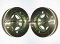 circular brass oil level sight glasses